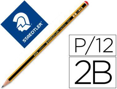Llapis de grafito 2B Staedtler Noris 120 N.0
