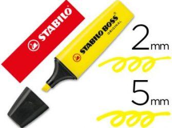 Fluorescent groc Stabilo Boss original