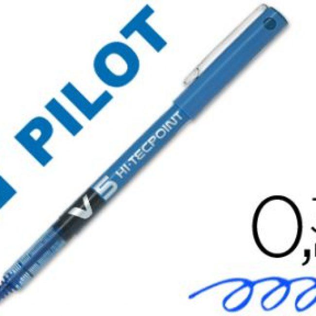 Retolador blau 0,5 mm Pilot V5