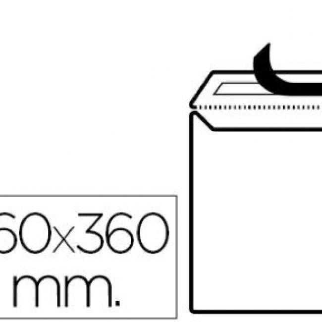 Sobre bossa 260x360 blanc autodex GPV -paquet 10-