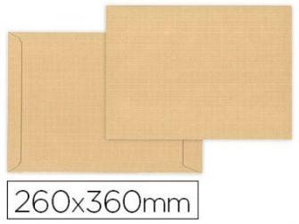 Sobre bossa 260x360 kraft autodex GPV -paquet 10-