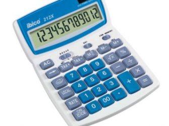 Calculadora 12 digits € Ibico 212X