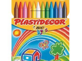 Barres plàstic colors Bic Plastidecor -estoig 12-