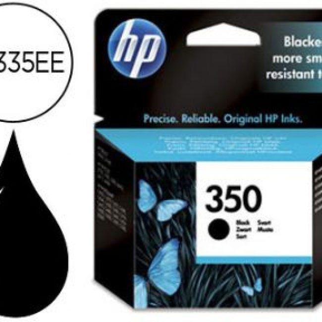 Cartutx tinta original HP 350 CB335EE negre