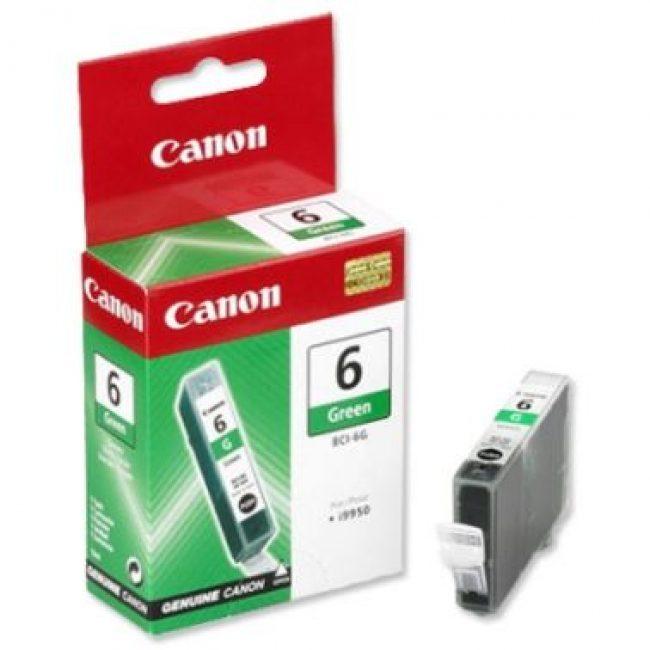 Cartutx tinta original Canon BCI-6G verd