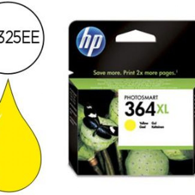 Cartutx tinta original HP 364XL CB325EE groc
