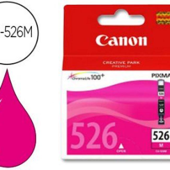 Cartutx tinta original Canon CLI-526M magenta 4542B001