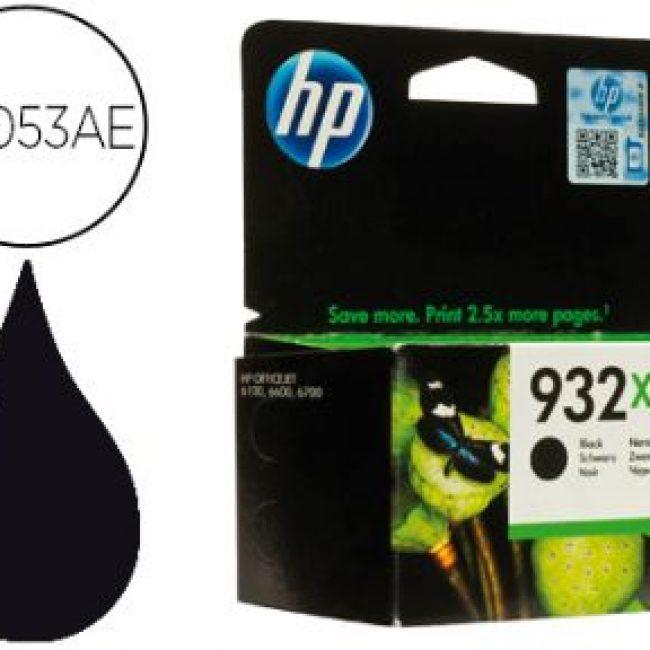 Cartutx tinta original HP 932XL CN053AE negre