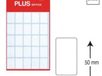 Etiquetes autoadhesives 20x50 Plus 1300 -5 fulls-