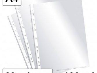 Funda PP A4 11T llis 60 micras Plus -caixa 100 -
