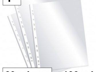 Funda PP F 11T llis 60 micras Plus -caixa 100 -