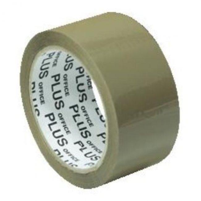 Cinta adhesiva 66x50 PP kraft Plus 040014