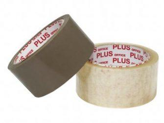 Cinta adhesiva 66x50 PP kraft NO soroll Plus 040490