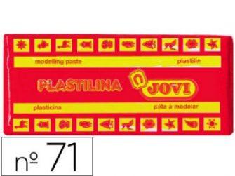 Plastilina color vermell 150g Jovi