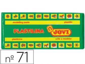 Plastilina color verd clar 150g Jovi