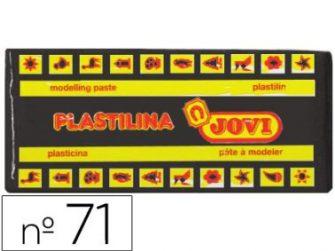 Plastilina color negre 150g Jovi