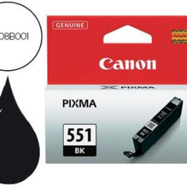 Cartutx tinta original Canon CLI-551BK negre 6508B001
