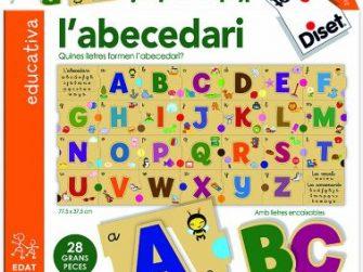Puzzle 28 peces Abecedari Diset 63663