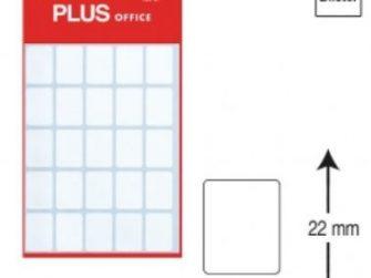 Etiquetes autoadhesives 16x22 Plus 1297 -5 fulls-