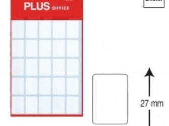 Etiquetes autoadhesives 19x27 Plus 1298 -5 fulls-