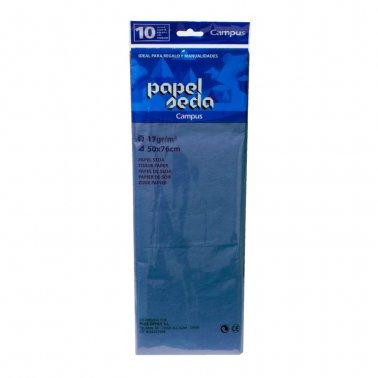 Paper seda blau fosc 50x76 Campus 600152 -p 10-