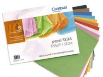 Quadern manualitats seda 32x24 10 fulls Campus 630093