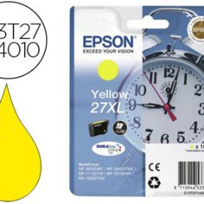 Cartutx tinta original Epson T2714 groc