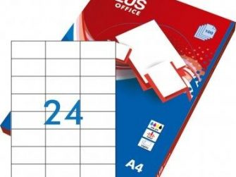 Etiquetes A4 70x37 Plus 1537 -caixa 100-