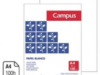 Paper Din A4 80g blanc Campus -100 fulls- 1019