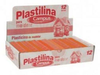 Plastilina taronja 200g Campus