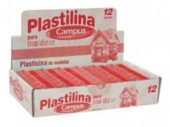 Plastilina vermell 200g Campus