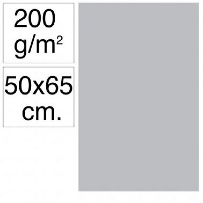 Cartolina 50x65 200gr gris clar Makro