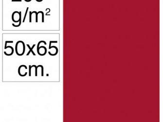 Cartolina 50x65 200gr granat Makro
