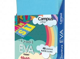 Lamines EVA blau cel 40x60 Campus 630473