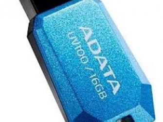 Memòria Flash USB 16Gb blau Adata AUV100
