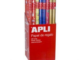 Paper regal 0,7x2 m Apli Nadal 14003