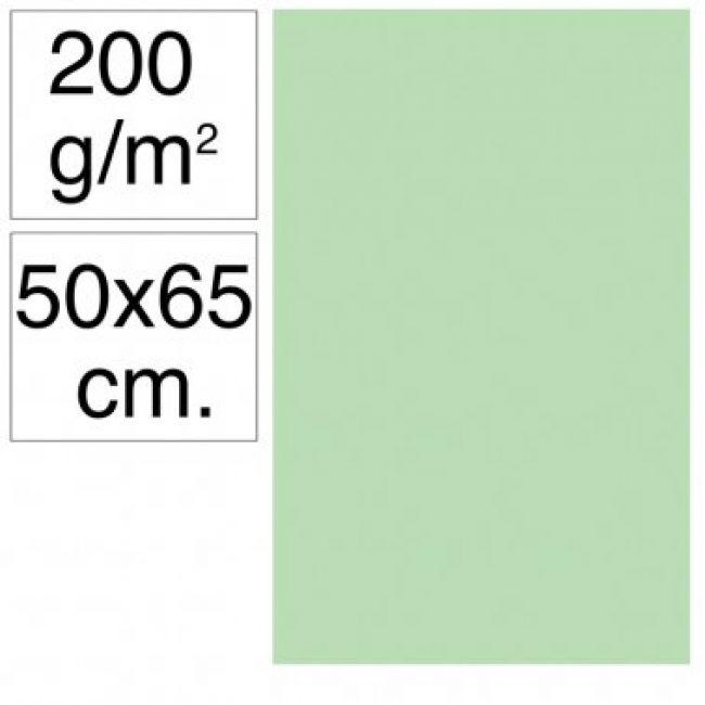 Cartolina 50x65 200gr verd poma Makro