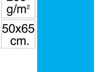 Cartolina 50x65 200gr blau maldives Makro