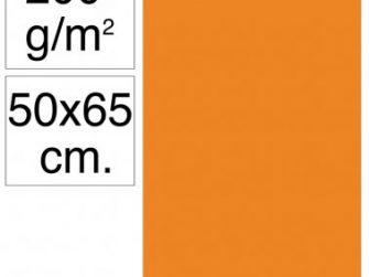 Cartolina 50x65 200gr taronja Makro
