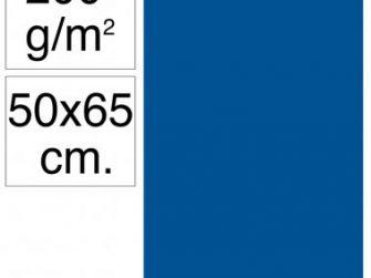 Cartolina 50x65 200gr blau marí Makro