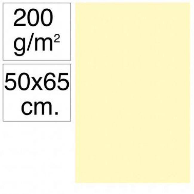 Cartolina 50x65 200gr crema Makro