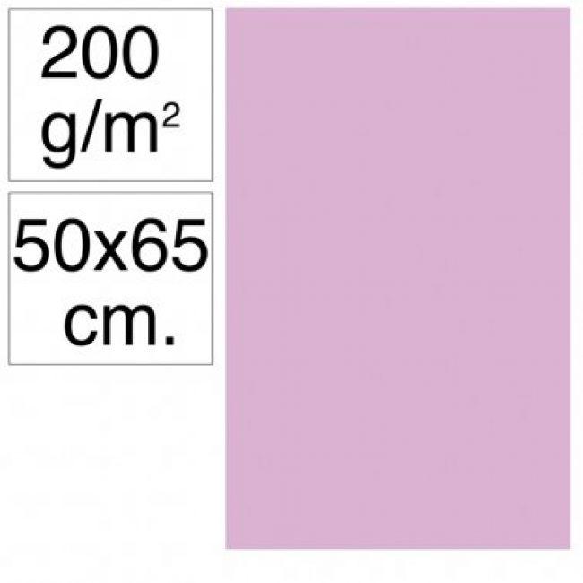 Cartolina 50x65 200gr lila Makro