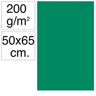 Cartolina 50x65 200gr verd pi Makro