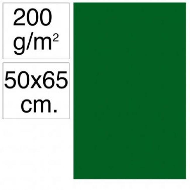 Cartolina 50x65 200gr verd selva Makro