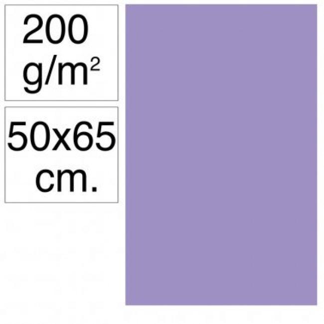Cartolina 50x65 200gr violeta Makro