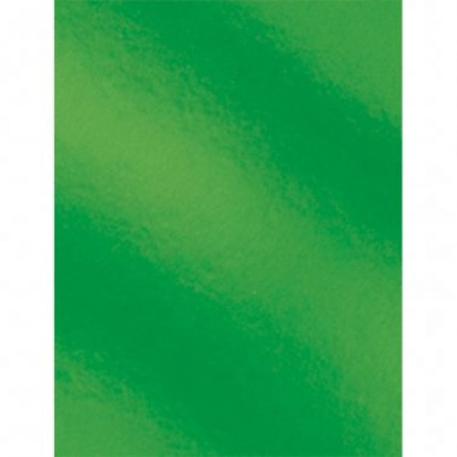 Cartolina 50x65 230gr metal·litzada verd Makro