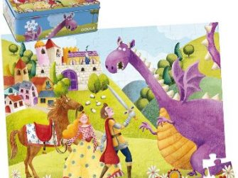 Puzzle 54 peces 50x37,5 Príncep i dragó Goula 53429