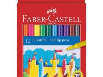 Retolador colors assortits Faber Castell -caixa de 12-