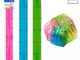 Regla plàstic flexible 30 cm Campus 600359