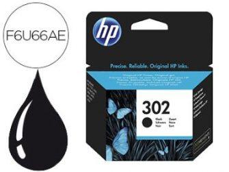 Cartutx tinta original HP 302 F6U66AE negre